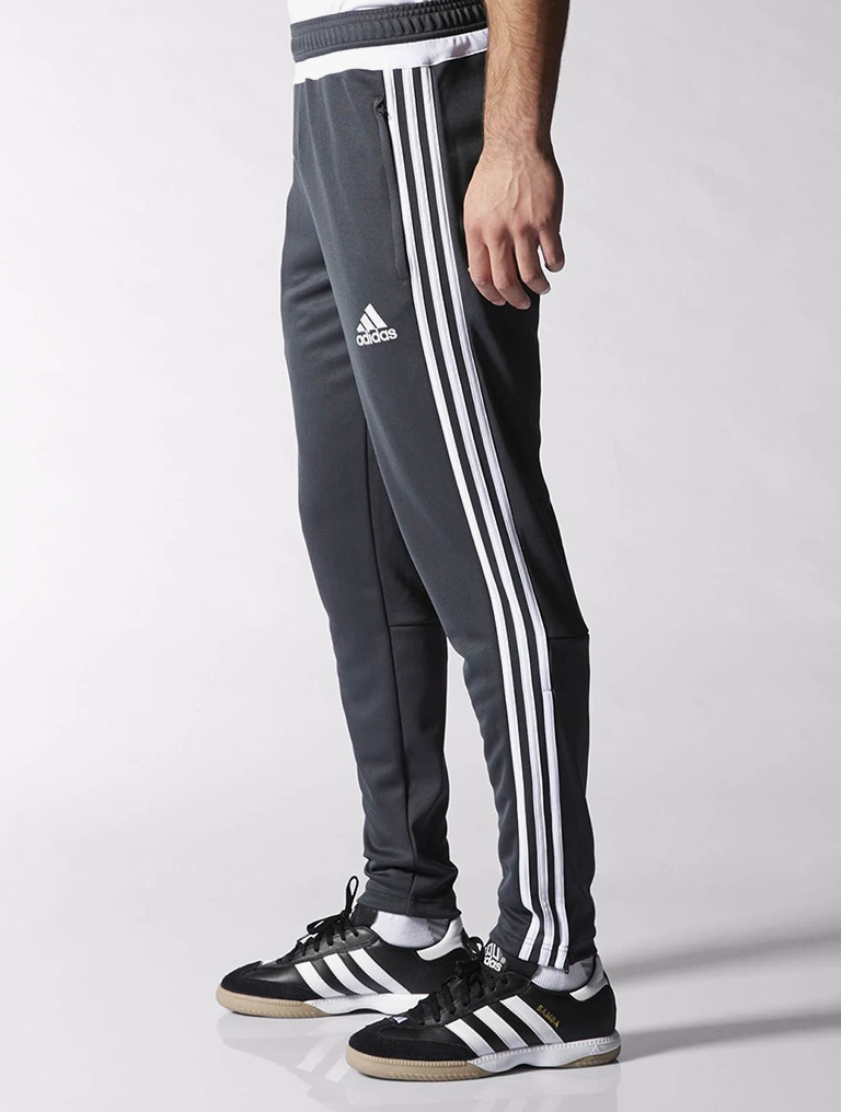Adidas Men s Tiro 15 Training Pants - Grey - Step It Up eea78ee3935a
